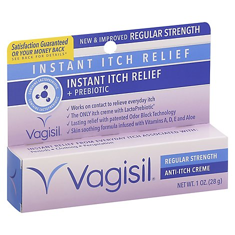 Vagisil Anti-Itch Creme Regular Strength - 1 Oz