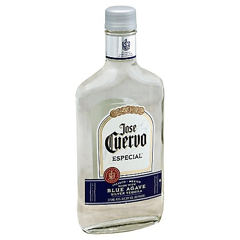 Jose Cuervo Tequila Silver 80 Proof - 375 Ml