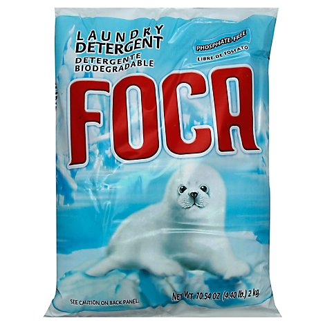 Foca Laundry Detergent Phospate Free Bag - 70.54 Oz