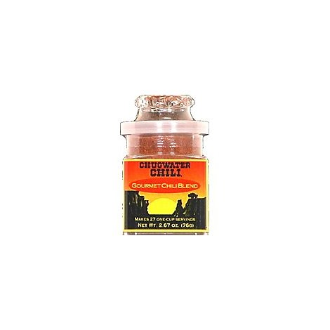 Chugwater Chili Blend Gourmet Chili - 2.67 Oz