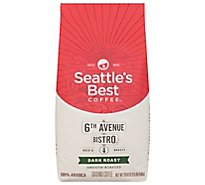 Seattles Best Coffee Coffee Ground Medium-Dark & Rich Level 4 - 20 Oz