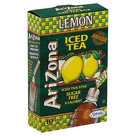 Arizona Tea Mix Sf Stix Lmn - .70 Oz