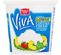 Meadow Gold Viva Lowfat Cottage Cheese - 24 Oz