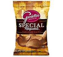Gardettos Special Request Rye Chips Roasted Garlic - 8 Oz