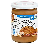 Bettern Peanut Butter Spread Low Sodium - 16 Oz
