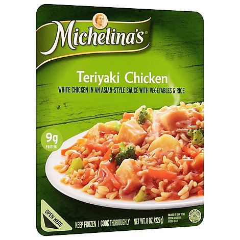 Michelinas Frozen Meal Lean Gourmet Chicken Teriyaki - 8 Oz