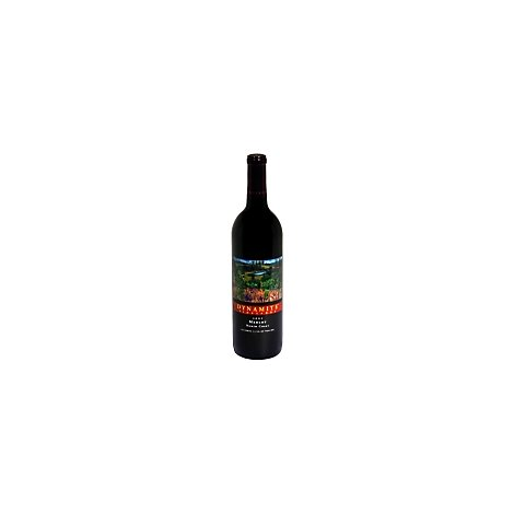 Dynamite North Coast Merlot Wine - 750 Ml