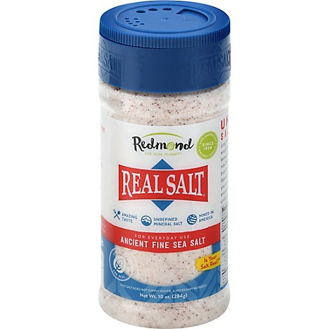 Real Salt Sea Salt Fine - 10 Oz