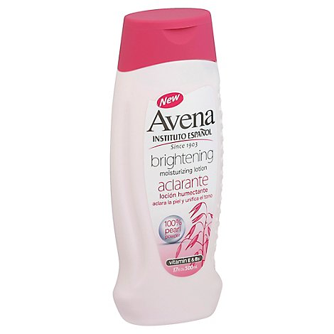 Avena Aclarante Whitening Lotion - 17 Oz