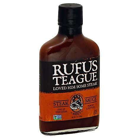 Rufus Teague Sauce Steak and Dippin Spicy - 7 Oz