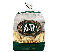 Country Pasta Egg Pasta Homemade Style Wide - 16 Oz