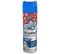 Resolve Stain Remover Carpet Foam High Traffic Area Easy Clean Refill Pet - 22 Oz