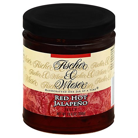 Fischer & Wieser Jelly Red Hot Jalapeno - 10.9 Oz