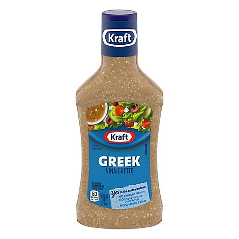 Kraft Dressing Greek Vinaigrette - 16 Fl. Oz.