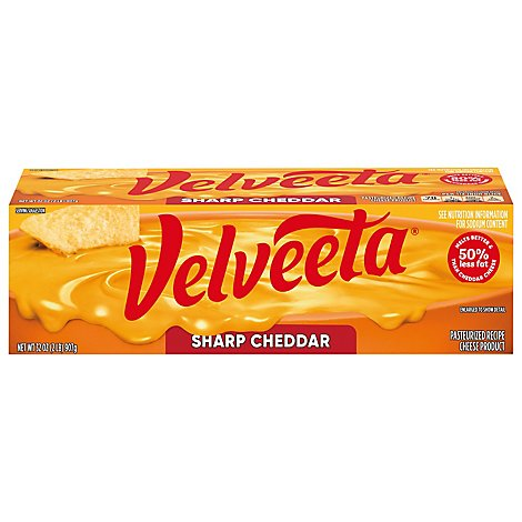 Kraft Sharp Velveeta Loaf - 32 Oz