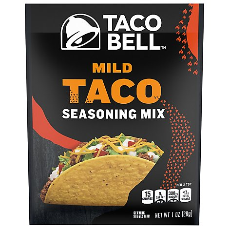 Taco Bell Seasoning Mix Taco Mild - 1 Oz