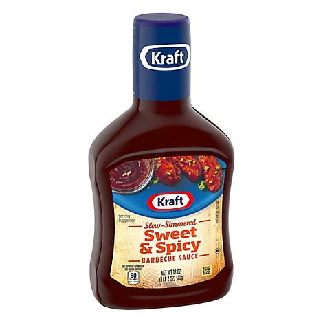 Kraft Sauce & Dip Barbecue Sweet & Spicy - 18 Oz
