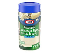 Kraft Cheese Parmesan Grated Topping Reduced Fat - 8 Oz