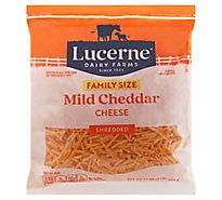 Lucerne Cheese Shredded Mild Cheddar - 32 Oz