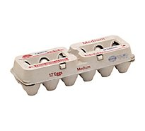 Lucerne Eggs Medium - 12 Count