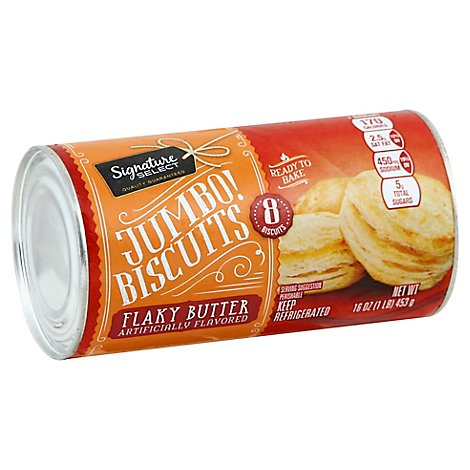 Signature SELECT/Kitchens Biscuit Jumbo Flakey Butter - 16 Oz