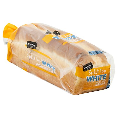 Signature SELECT Bread Split Top White - 22.5 Oz