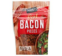 Signature SELECT Bacon Pieces Real Pouch - 2.8 Oz