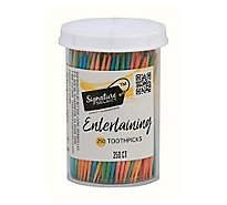 Signature SELECT/Home Toothpicks Party Colors - 250 Count