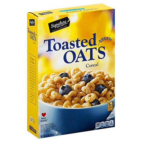 Signature SELECT Cereal Toasted Oats - 12 Oz