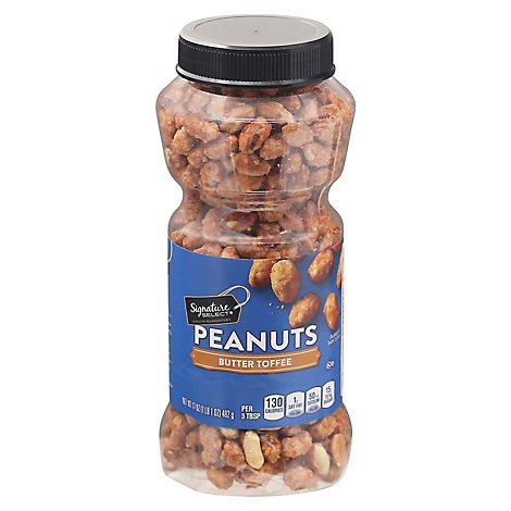 Signature SELECT Peanuts Butter Toffee - 17 Oz