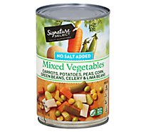 Signature SELECT Mixed Vegetables No Salt Added Can - 15 Oz