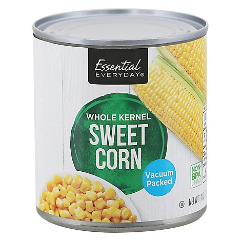 Signature SELECT/Kitchens Corn Whole Kernel Sweet Vacuum Packed Can - 11 Oz