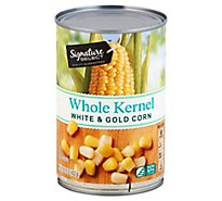 Signature SELECT/Kitchens Corn Whole Kernel Super Sweet White & Gold Can - 15.25 Oz