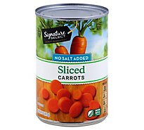 Signature SELECT/Kitchens Carrots Sliced No Salt Added - 14.5 Oz