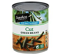 Signature SELECT/Kitchens Beans Green No Salt Added - 8 Oz