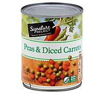 Signature SELECT/Kitchens Carrots Peas & Diced - 8 Oz