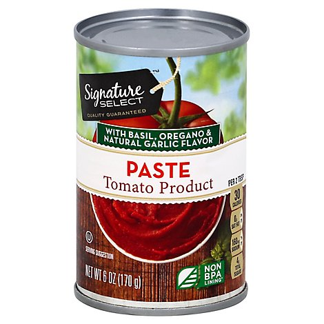 Signature SELECT Tomato Paste Italian Style - 6 Oz