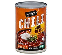 Signature SELECT Chili With Beans - 15 Oz