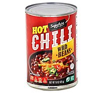 Signature SELECT/Kitchens Chili With Beans Hot Chili - 15 Oz