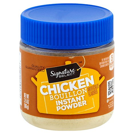 Signature SELECT Bouillon Instant Chicken - 3.75 Oz