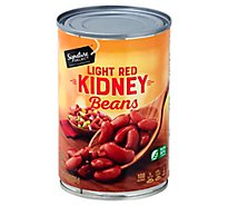 Signature SELECT Beans Kidney Light Red - 15 Oz