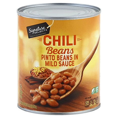 Signature SELECT/Kitchens Beans Chili In Sauce - 30 Oz