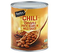 Signature SELECT Beans Chili In Sauce - 30 Oz