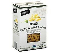 Signature SELECT Pasta Elbow Macaroni Large Box - 16 Oz