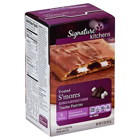 Signature SELECT/Kitchens Toaster Pastries Frosted Smores 6 Count - 11 Oz