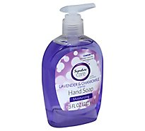 Signature Care Hand Soap Lavender & Chamomile Scented Moisturizing - 7.5 Fl. Oz.