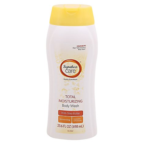 Signature Care Body Wash Total Moisturizing With Shea Butter - 23.6 Fl. Oz.
