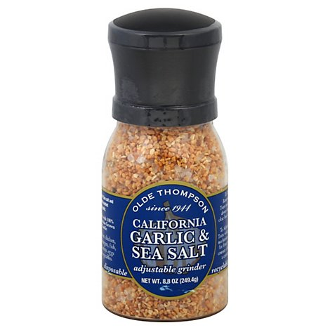 Olde Thompson Garlic & Sea Salt California - 8.8 Oz
