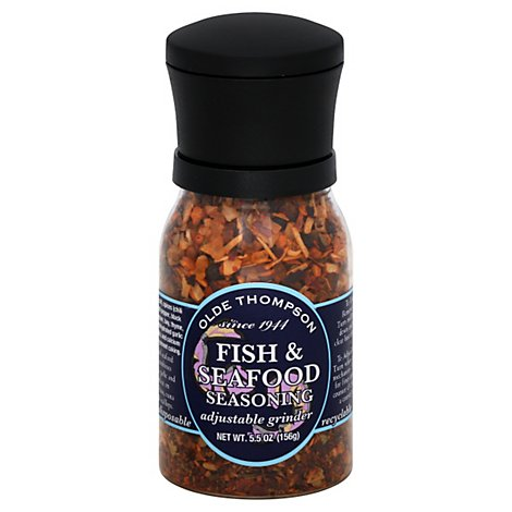 Olde Thompson Seasoning Fish & Seafood - 5.5 Oz