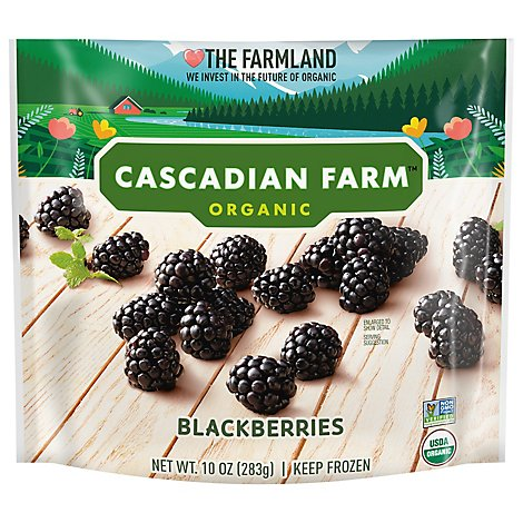 Cascadian Farm Organic Blackberries Premium - 10 Oz